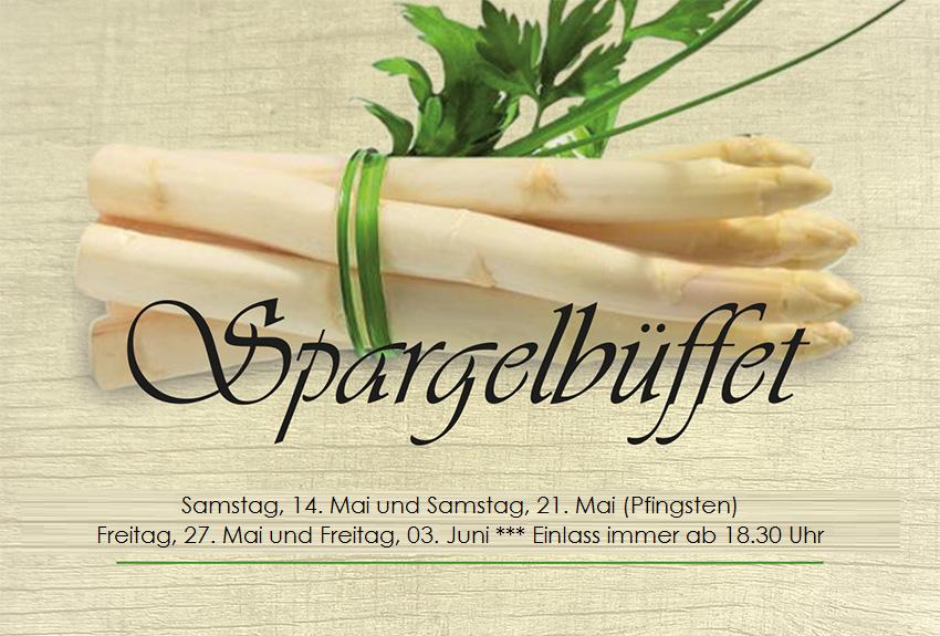 Spargelbuffet 2016
