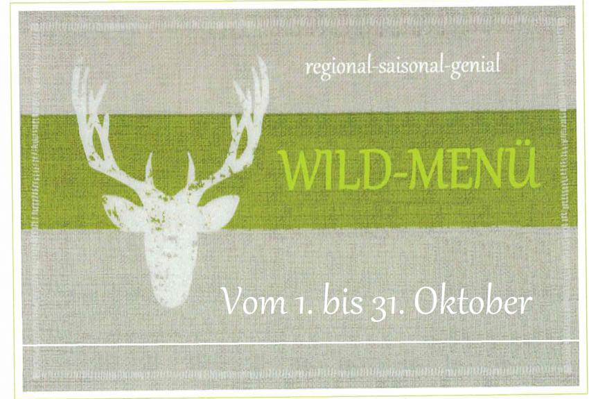 Wild-Menü